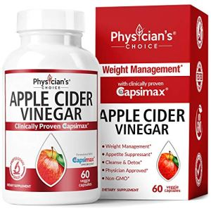 Apple Cider Vinegar Capsules for Weight Loss Support (Award Winning Capsimax Formula), Fat Burners for Women & Men, Promotes Appetite Management, Metabolism Booster, Organic, Non-GMO, 60 Pills 8 - My Weight Loss Today