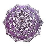 TOPTIE Lace Umbrella Parasol...