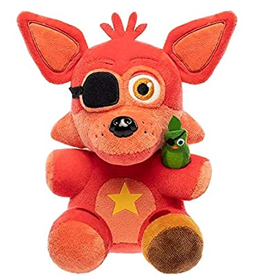 From Five Nights at Freddy's pizza simulator, rock Star Foxy, as a stylized plush from Funko! Stylized plush stands 6 inches tall, perfect for any Five Nights at Freddy's pizza simulator fan! Collect and display all five Nights at Freddy's pizza simu...