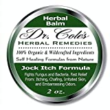 Dr. Cole's Organic Jock Itch Treatment – Anti-Fungal Ointment, Kills Fungus & Ringworm – Relieves Itching & Eliminates Fowl Groin Odor Naturally – Easy to Apply – Safe for The Whole Family