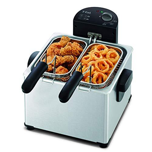 T-fal FR3900 Triple Basket Deep Fryer with...