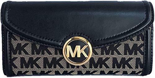 51X0bMJv+EL Michael Kors Fulton Large Flap Continental Wallet