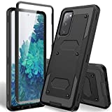HATOSHI Galaxy S20 FE Case, Galaxy S20 FE 5G, S20 Fan Edition Case with Built-in Screen Protector,...