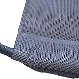 Aluminium Gartenliege extra Hoch Sitzhöhe Bäderliege Saunaliege Sonnenliege - 5