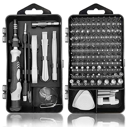 Royace Screwdriver Kit,119 in 1 Precision Screwdriver Set Mini Screwdriver Set Magnetic Computer Repair Tool Kit Pc Screwdriver Set with Case, Torx Set for Iphone,Electronics,Ps3s,Hobby Tools