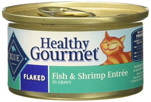 Blue Buffalo Flaked Cat Food – Fish & Shrimp – 3 Oz