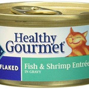 Blue Buffalo Flaked Cat Food – Fish & Shrimp – 3 Oz