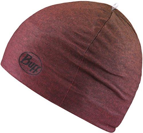 Buff Mircofiber And Polar Hat Headwear, Nod Wine, One Size
