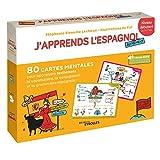 J'apprends l'espagnol autrement - Niveau débutant: 80 cartes mentales pour apprendre...