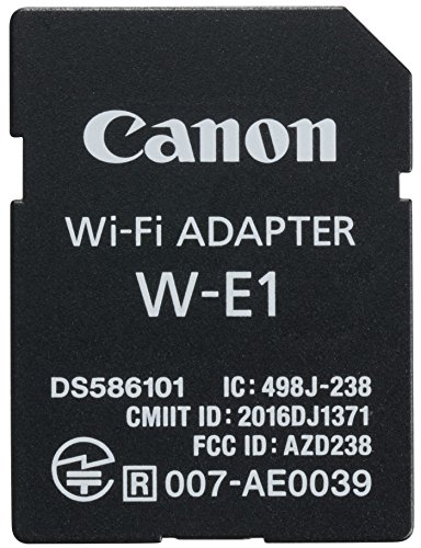 Canon w-e1adapttador Wi-Fi per fotocamere Canon EOS w-e1