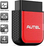 Autel OBD2 Scanner Bluetooth Diagnostic Code Reader - MaxiAP AP200H Code Scanner Health Check with...
