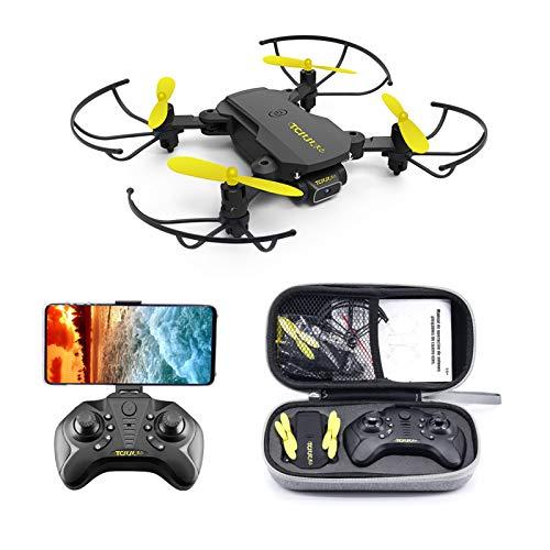 TCMMRC Peak Bird Mini WiFi FPV con videocamera HD modalit di Mantenimento dell'altitudine Pieghevole RC Drone Quadcopter RTF, Mantenimento dell'altitudine, modalit Senza Testa