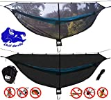 Chill Gorilla Defender Hammock Mosquito Net Stops All Bugs & Insects. Fast Easy Setup. Compact, Lightweight. Size 132' x 51'. Camping Accessories.