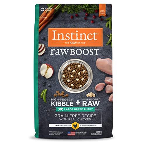Instinct Raw Boost Large Breed Puppy Food, Grain...