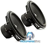 Pair Sundown Audio SA-15 Rev.3 D4 15' 1500 Watts Dual 4-Ohm SA Series Subwoofers Pair