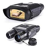 Jumelles de Vision Nocturne numérique pour la Chasse 7x31 avec caméra...