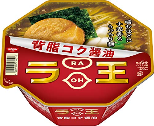 日清ラ王 背脂コク醤油 115g×12個