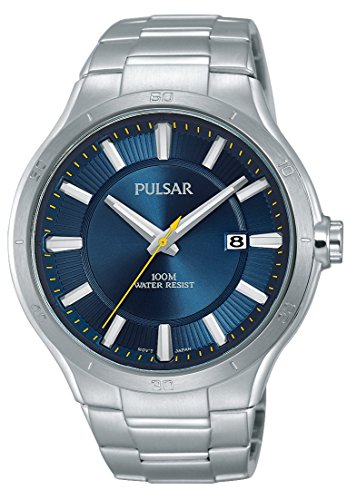 Lorus Klassik Damen-Uhr Edelstahl mit Goldauflage und Metallband RPH56AX9