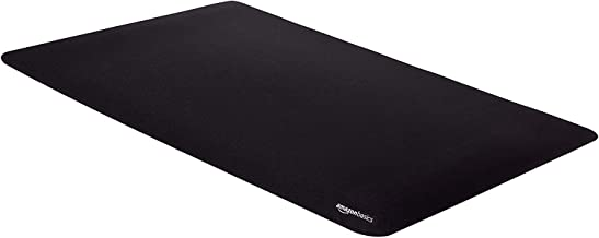 AmazonBasics Large Extended Gaming Computer Mouse Pad – Black