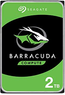 Seagate BarraCuda 2TB Internal Hard Drive HDD – 3.5 Inch SATA 6Gb/s 7200 RPM 256MB..