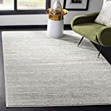 Safavieh Adirondack Collection ADR113C Light Grey and Grey Modern Abstract Area Rug (4' x 6')