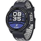 COROS PACE 2 Premium GPS Sportuhr, Herzfrequenzmesser, 30-Stunden-GPS-Vollbatterie, Barometer, ANT + & BLE-Anschlüsse, Strava, Stryd & TrainingPeaks (Navy Silikon)