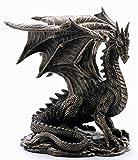 Nemesis Now Figurine en Bronze Grawlbane Le Dragon