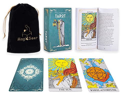 MagicSeer Borderless Tarot Cards Power Deck