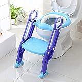 BAMNY Siège de Toilette Enfant Pliable et Réglable, Reducteur de Toilette...
