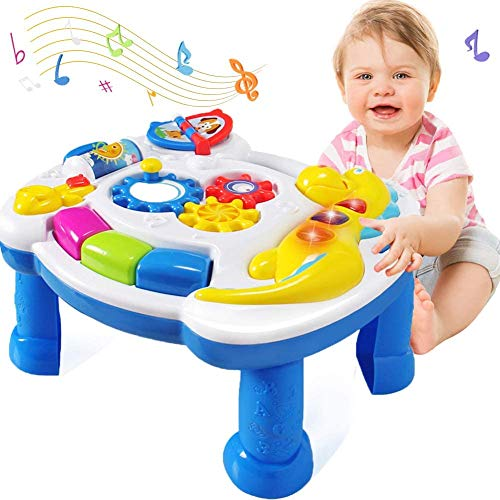 HOMOFY Homof Baby Toys Musical Learning Table 6 Months...