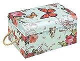 Idena 031423 Hope - Maletín de Regalo (31 x 20 x 17 cm), diseño de Mariposa, Caja de Almacenamiento, Caja de Fotos, baúl de Regalo