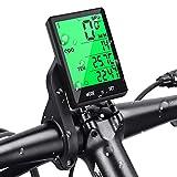 Prumya Compteur de Vélo, Ordinateur de Vélo sans Fil Étanche, Écran LCD...