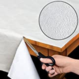 Home Bargains Plus Quilted Heavy Duty Table Pad Protector with Flannel Backing - Cut to Fit - 52' x 70'