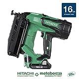 Hitachi NT1865DM 18V Cordless Straight Finish Nailer, Brushless...