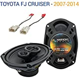 Compatible with Toyota FJ Cruiser 2007-2014 OEM Speaker Replacement Harmony R69 Package New