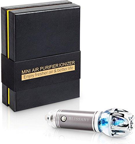 Purificatore d'aria per Auto Deodorante d'aria per Auto Ionizzatore,Rimuove Polline, Odore del Fumo, Cattivo Odore - Ideale per Automobile o RV e Buon Regalo per Auto