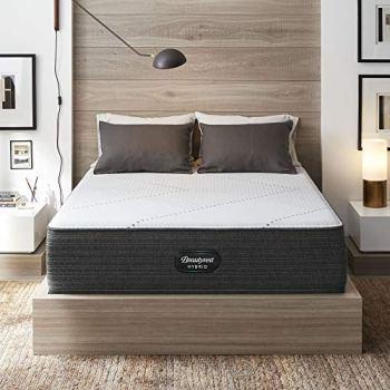 """Beautyrest Hybrid 14"""" BRX1000-IP Medium Innerspring Mattress, Queen"""
