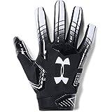 Under Armour mens F6 Football Gloves Black (001)/White Large