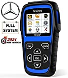 AUTOPHIX Auto Car Code Reader for Mercedes Benz Enhanced ND606 Full-Systems Diagnostic Scanner OBD/EOBD Scan Tool with Oil DPF BMS EPB SAS Reset Battery Check Engine [New Version]