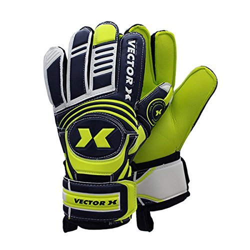 Vector X Advance Goalkeeping Gloves, Size 9 (Yellow/Black)