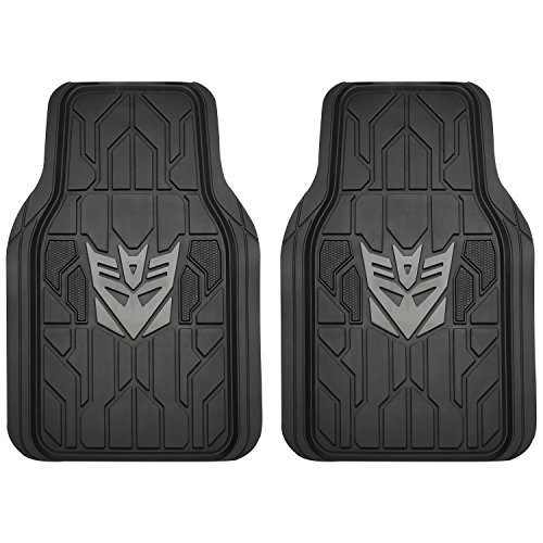 Pilot Automotive TRF-0603 Transformers Decepticon Universal Floor Mat - 2 Piece