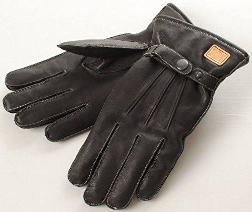 デグナー(DEGNER) 防寒 防水 透湿 ウィンターグローブ 山羊革 ブラック M WG-12