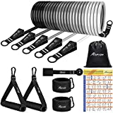 HPYGN Resistance Bands Set, Workout Bands with Handles – Exercise Bands Stackable up to 150lb –...