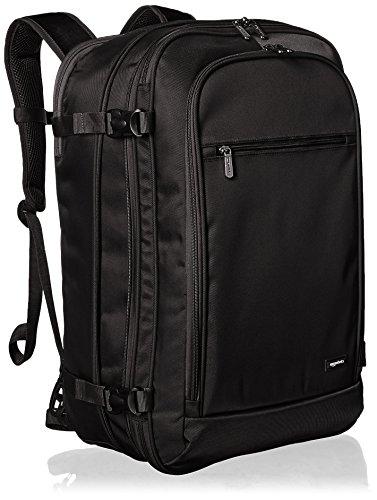 AmazonBasics - Zaino da viaggio/bagaglio a mano, Nero - 50L