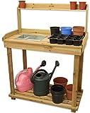 Woodside Wooden Potting/Planting Bench/Table Workshop Work DIY Station by