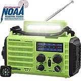 Radio d'urgence, Radio à Manivelle, Radio Solaire, Radio Météo pour la...