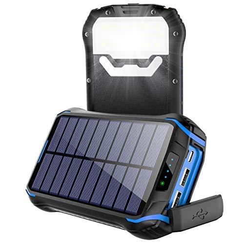 Soluser Powerbank 26800mAh Caricabatterie...