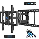 Mounting Dream TV Wall Mounts TV Bracket for 42-75 Inch TVs, Premium TV Mount, Full Motion TV Wall Mount with Articulating Arms, Max VESA 600x400mm and 100 LBS, Fits 16', 18', 24' Studs MD2296-24K