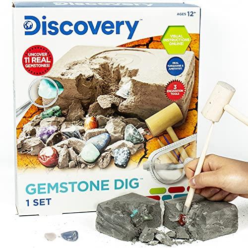 Discovery Kids Gemstone Dig Stem Science Kit by Horizon...