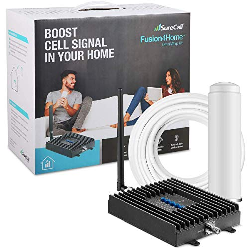 SureCall Fusion4Home Cell Phone Signal Booster for Home and...